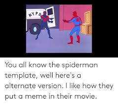 Spiderman Template Ny Po You All Know The Spiderman Template Well Heres A