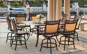 patio furniture cast aluminum sling