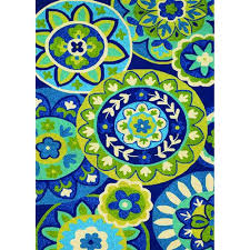 couristan covington rip tide ocean indoor outdoor area rug 3 6 x