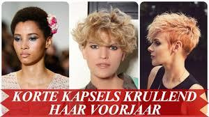 Korte Kapsels Krullend Haar Voorjaar 2018