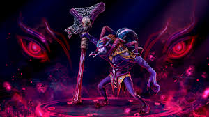 picture dota 2 witch doctor skulls sorcery mage staff monsters