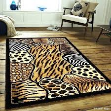 sophisticated cheetah print area rug leopard awesome coffee tables antelope stair