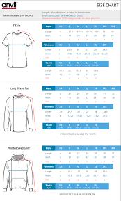 Anvil T Shirts Size Chart Custom Screen Printed Organic T Shirt Design Your Own