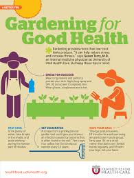Gardening for Good Health