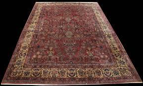 antique persian sarouk rug8 9 x 12 rug sa28071