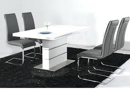 awesome round high gloss dining table for 43 white high gloss dining table and chairs