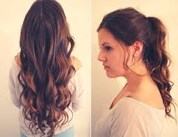 beach wave hairstyle