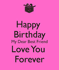 BFF B-Day on Pinterest | Happy Birthday, Best Friend Quotes and ... via Relatably.com