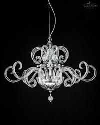 119 sm chrome modern crystal chandelier amadeus chandeliers