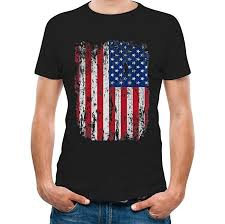 United States of America Flag T-Shirt USA Flag Men ... - Amazon.com