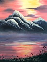 landscape paintings images excellent but simple acrylic painting ideas for beginners australian landscape paintings images