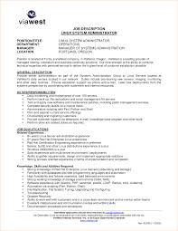 Collection Of solutions Linux System Administration Sample Resume for Iis  Systems Administration Cover Letter