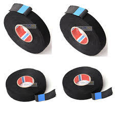 cloth wire loom parts accessories 4x wire harness tape adhesive cloth electrical wire wrap cable looms 19mm x 25m