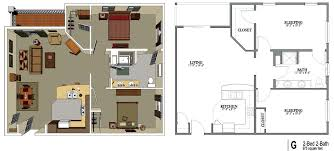 >senior living floor plans shawnee hills senior living 2 bedroom 1 bathroom