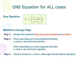 one equation for all cases one equation method to assign sign step 1 assign the