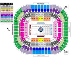 Wvu Stadium Seating Chart Belk College Kickoff Tickets South Carolina Vs North