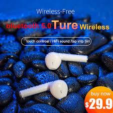 <b>K1 tws</b> Wireless <b>Earphone</b> Bluetooth 5.0 Touch control <b>Earbuds</b> 3D ...