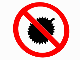 Image result for no durians in the library