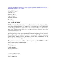 How To Write Tds Certificate Request Letter Bank Grassmtnusa Com