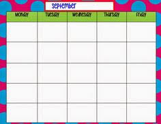 Weekly Schedule Template For Pdf Version 3: 2 Schedules On One Page ...