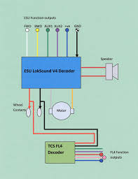 class 67 dcc sound and lighting update Dcc Decoder Wiring Diagram the decoder connections dcc decoder circuit diagram