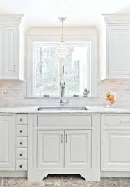 lighting kitchen sink kitchen traditional. Over The Sink Lighting Kitchen Traditional With Marble Floor Image By W
