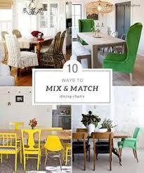 how to mix and match dining chairs mismatched dining roomdinning