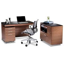 walnut office furniture. image of the bdi sequel 6017 natural walnut multifunction cabinet with other office furniture d