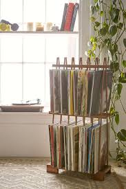 vinyl record furniture. Alexander Vinyl Storage Rack Record Furniture