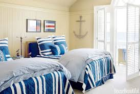 nautical bedroom decor. nautical home decor - ideas for decorating rooms house beautiful bedroom d