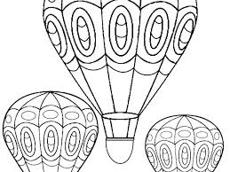 free balloon coloring pages hot air page colouring free balloon coloring pages