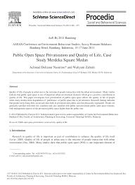 Hamid Shirvani Urban Design Process Pdf Public Open Space Privatization And Quality Of Life Case