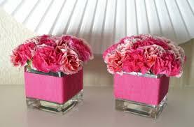 Flower Vase With Paper Crepe Paper Flower Vase Centerpiece Idea Hello Nutritarian