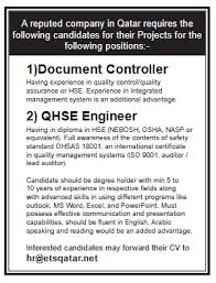 Job Profile Of Document Controller Document Controller Job In Qatar