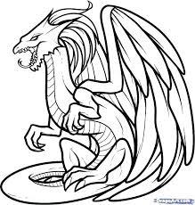 Komodo Dragon Coloring Pages Dragon Coloring Page Beautiful Dragons