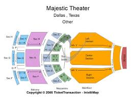 Majestic Theatre San Antonio Tx Seating Chart Majestic Theatre Dallas Seating Chart