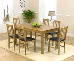 oak dining table and 6 chairs gumtree