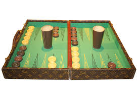 rare louis vuitton ashtray and backgammon set make exceptional gifts