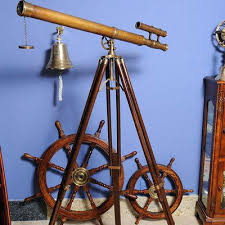 Decorative Telescopes Decorative Telescopes Decorative Telescope With Stand Brass 42