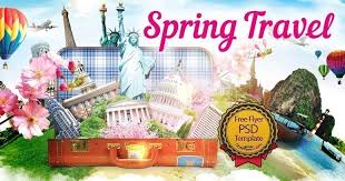 Spring Travel Free Psd Flyer Template Free Download 17083 Styleflyers