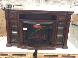 costco 1048925 well universal 72 electric fireplace media