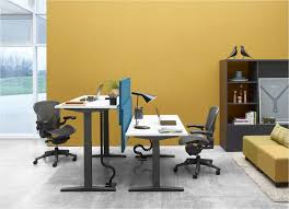 herman miller office desk. herman miller ratio sit stand desk 2 office 0