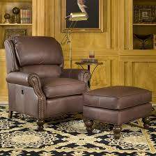 Smith Brothers 950 Tilt-Back Chair and Ottoman Combination at Sheely's  Furniture & Appliance