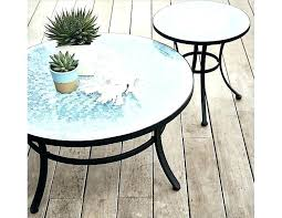 mosaic tile outdoor table full image for top tables furniture coffee side outdoo ceramic blue mosaic tile outdoor table