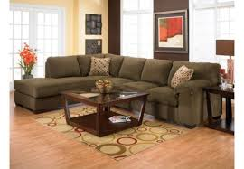 morty chenille sectional brown the