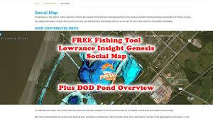 Free Fishing Charts Free Fishing Maps Lowrance Insight Genesis Social Map