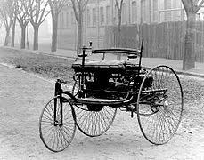 three wheeler 1885 benz patent motorwagen