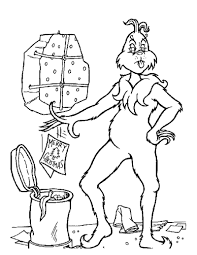 Free Christmas Coloring Pages Grinch