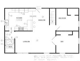 Small Picture Kitchen Floor Plans With Islands