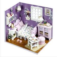 small handmade houses families furniture for dolls sweet sunshine house wooden toys educational